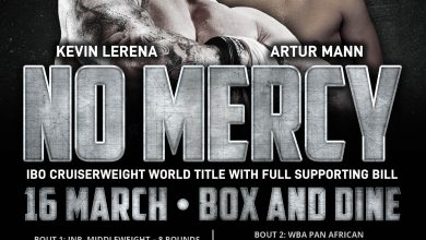 Photo of 16th March 2019 – 'No Mercy' Emperors Palace