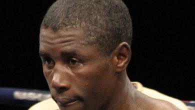 Photo of Takalani Ndlovu IBF Junior Featherweight Champion