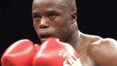Photo of Isaac Hlatswayo IBO Lightweight Champion