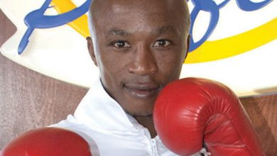 Photo of Gideon Buthelezi IBO Strawweight Champion