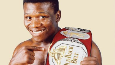Photo of Vuyani Bungu IBF Junior Featherweight Champion