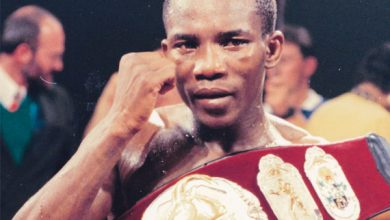 Photo of Mbulelo Botile IBF Bantamweight Champion