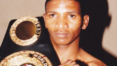 Photo of Mzukisi Sikali WBU Junior Flyweight Champion