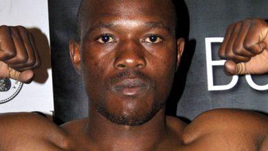 Photo of Kaizer Mabuza IBO Junior Welterweight Champion