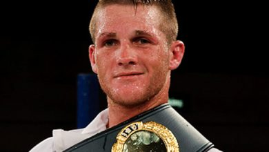 Photo of Thomas Oosthuizen IBO Super Middleweight Champion