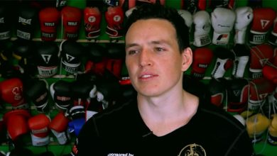 Photo of Campbell Ditches Clubs For Boxing Gloves