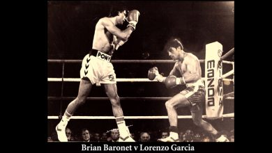 Photo of Golden Gloves – 37 years ago – 14 March 1983