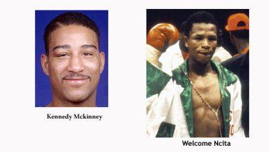 Photo of Kennedy McKinney KO 11 Welcome Ncita – 2 December 1992