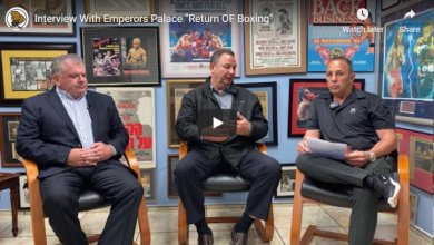 """Photo of Interview With Emperors Palace """"Return OF Boxing"""""""