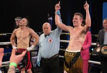 Photo of BRANDON THYSSE STOPS BOYD ALLEN IN 3 ROUNDS IN RETURN OF SOUTH AFRICAN BOXING
