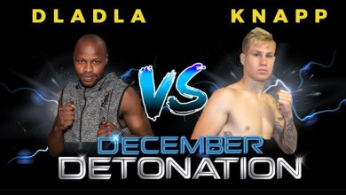 "Photo of ""December Detonation"" IBO Youth Junior middleweight championship."