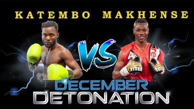 Photo of Jabulani Makhense vs Kuvesa Katembo 19 December 2020