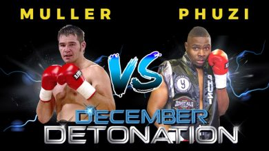 "Photo of ""December Detonation"" semi-final of the ""Who will prevail?""                      cruiserweight tournament"