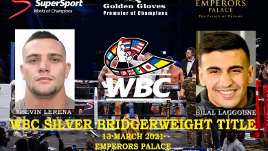 Photo of Kevin Lerena to fight Bilal Laggoune for WBC silver belt at bridgerweight