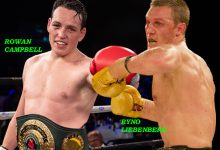Photo of Campbell-Liebenberg super fight back in the works for March as Golden Gloves try to revive local rivalries.