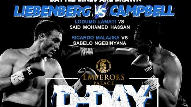 Photo of D Day Has Arrived – Emperors Palace Boxing – 14 March 2021
