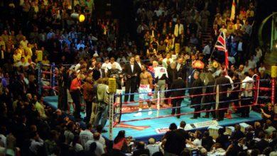 Photo of Lennox Lewis vs. Hasim Rahman 20 years ago
