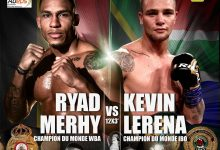 Photo of Kevin Lerena To Face WBA Champion Ryad Merhy In Cruiserweight Unification Showdown