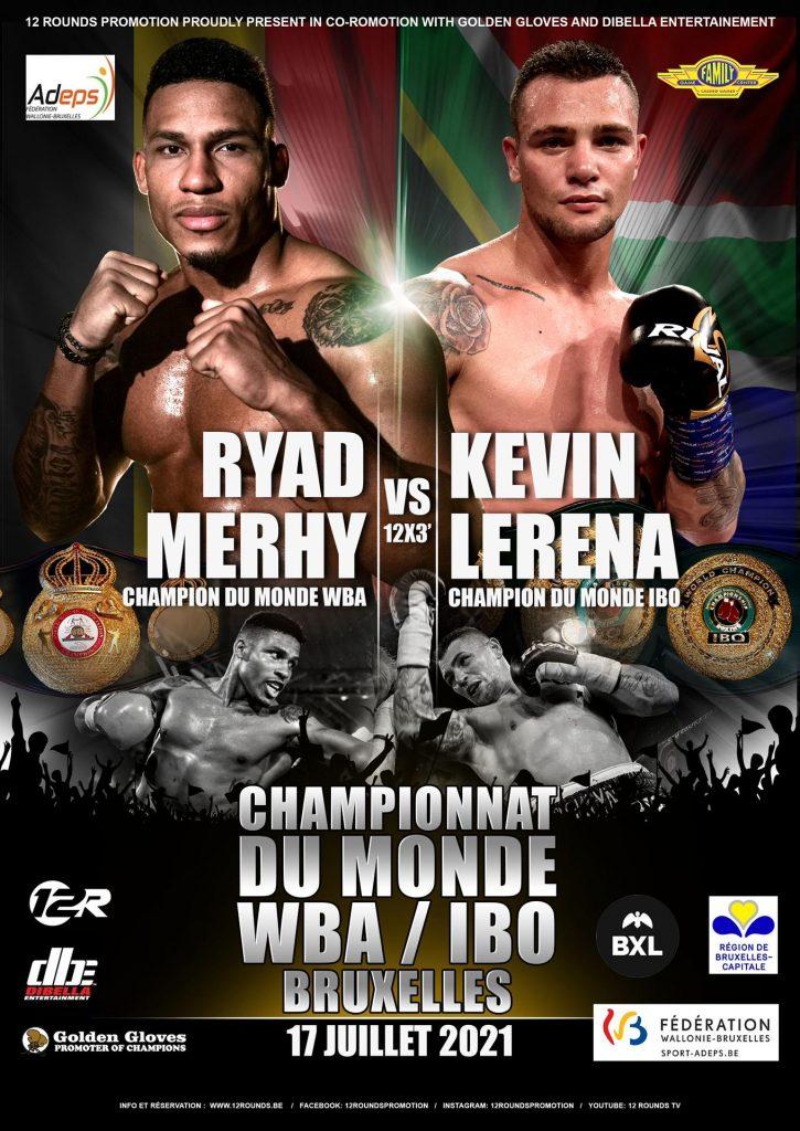 Ryad Merhy VS Kevin Lerena