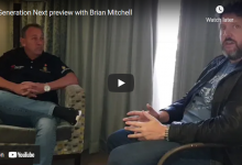 Photo of Droeks Malan's Generation Next preview with Brian Mitchell