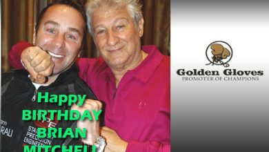 Photo of Brian Mitchell celebrates his 60th birthday on Monday.