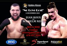 Photo of No Love Lost. Roux vs Nebe